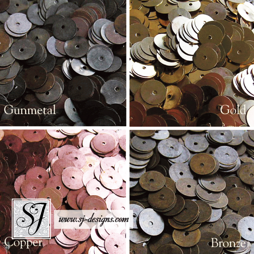 8mm Round Metal Spangles