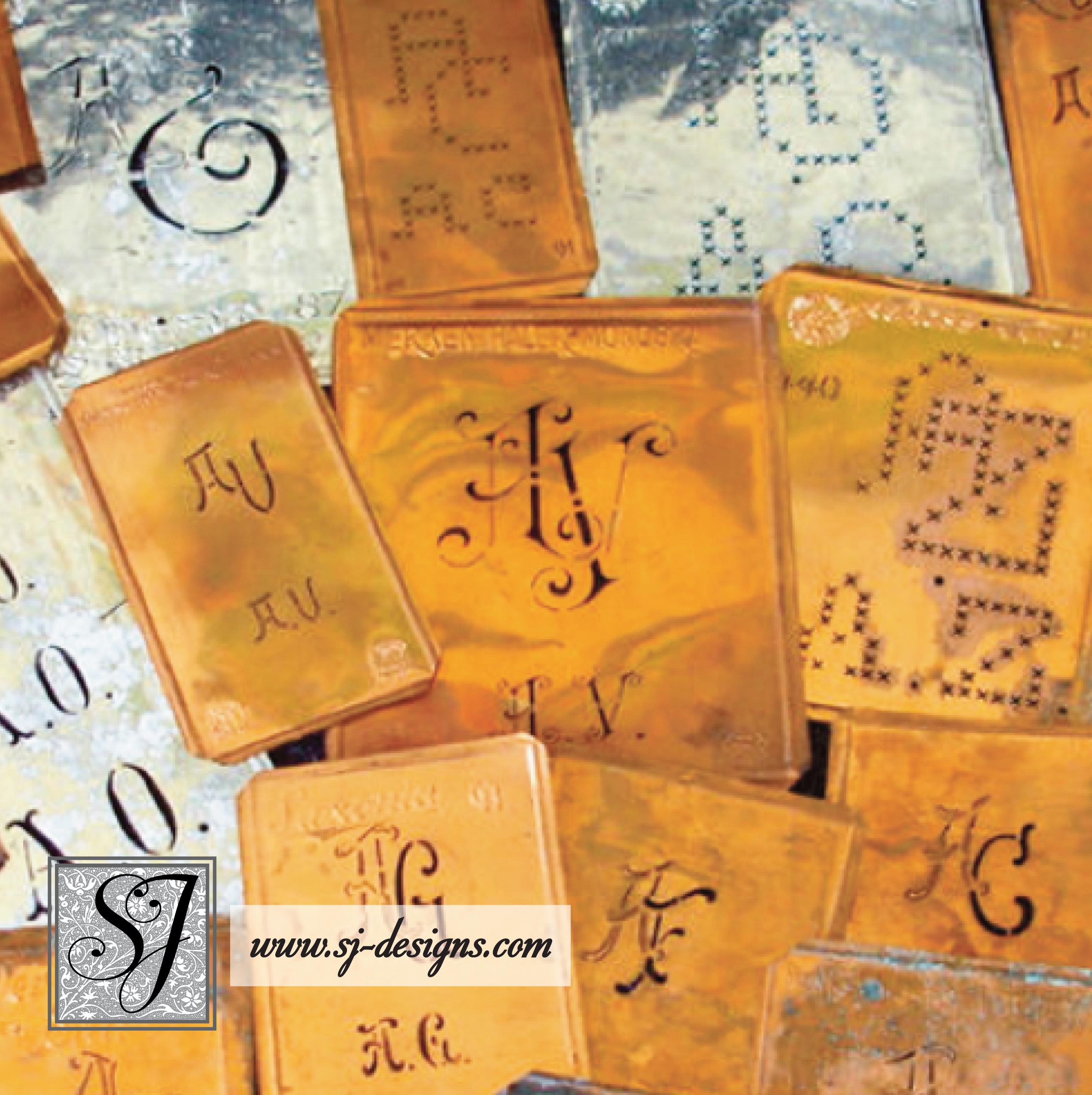 Monogram Stencils