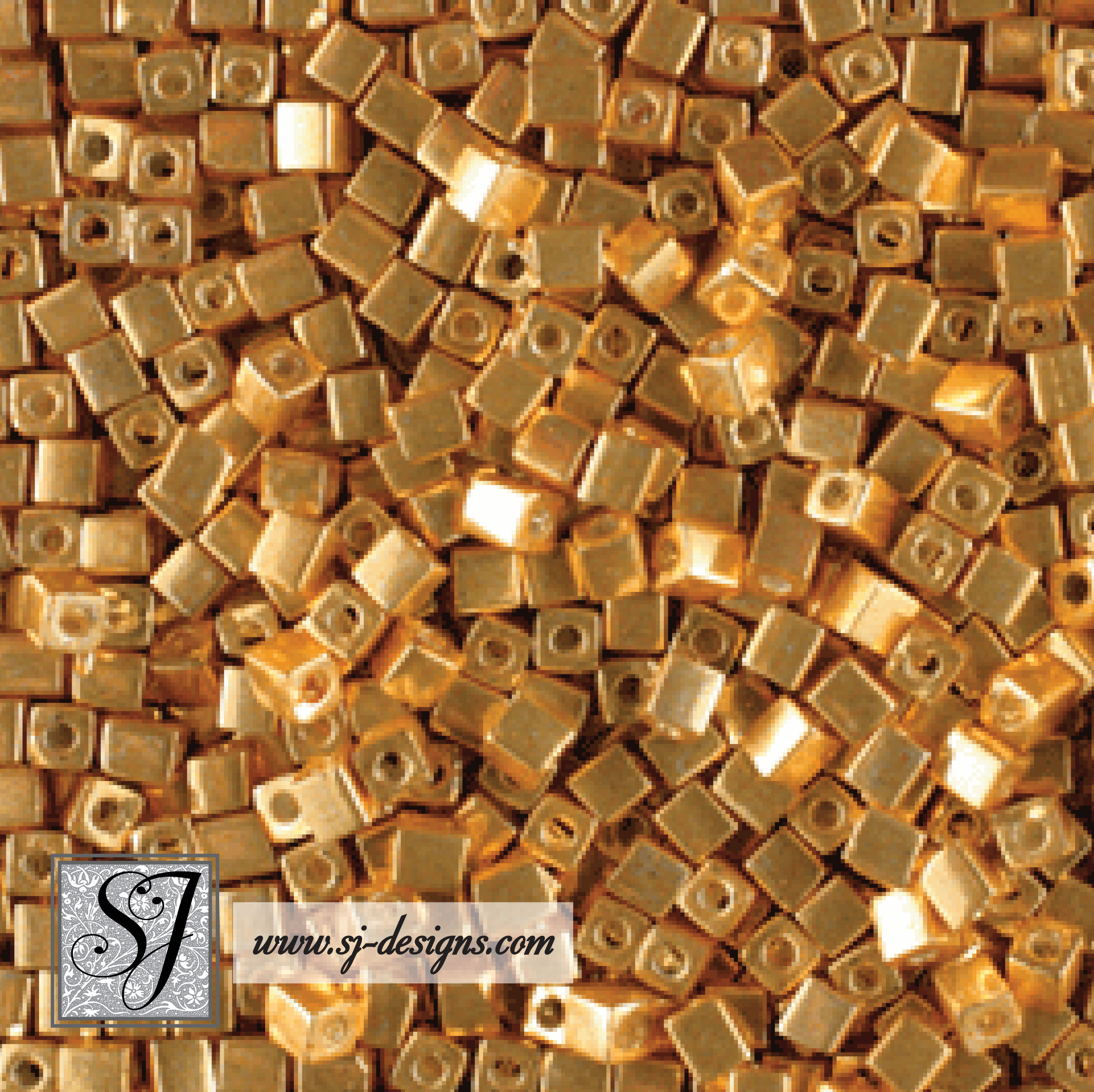1.5mm & 3mm Square Beads