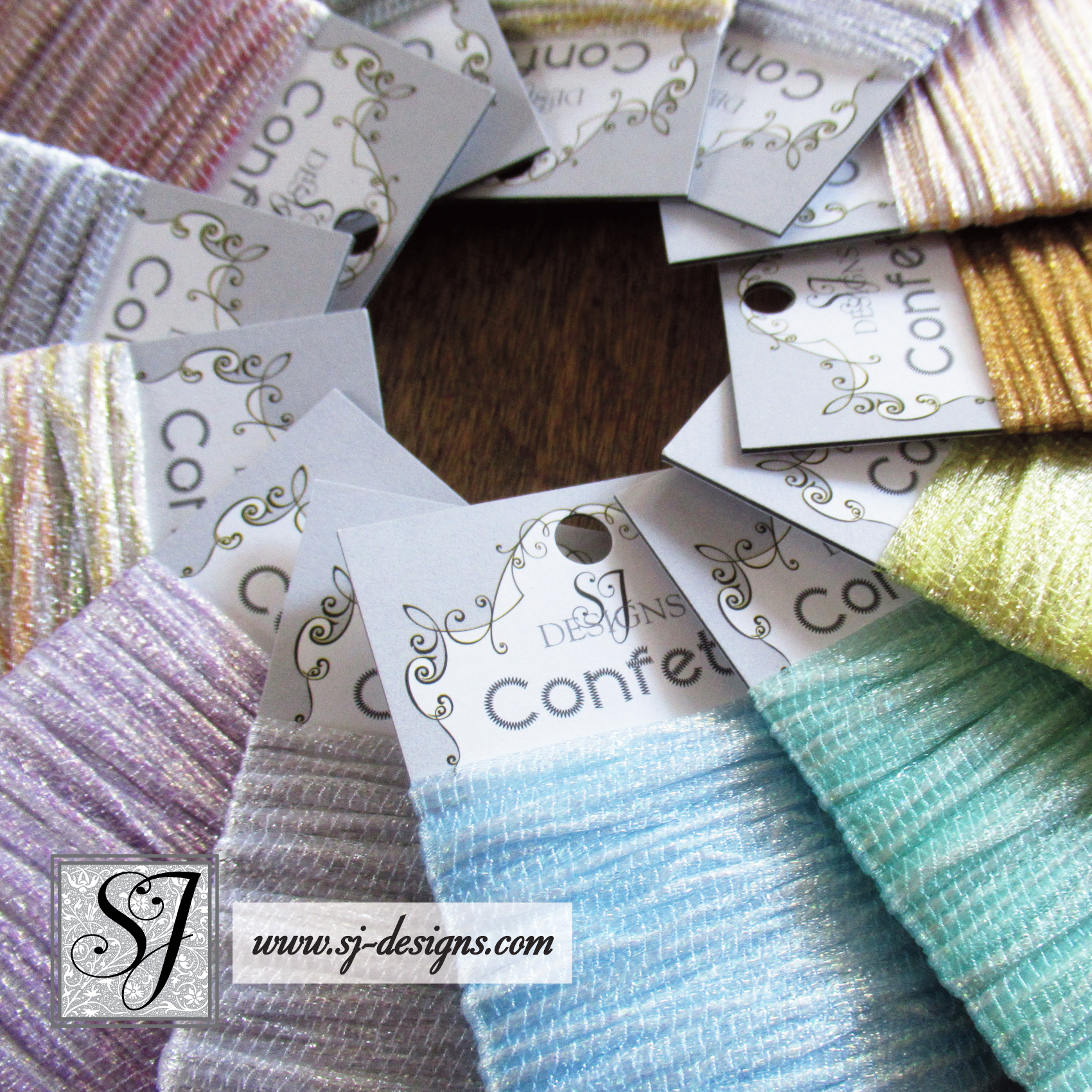 SJ Designs Confetti Yarn