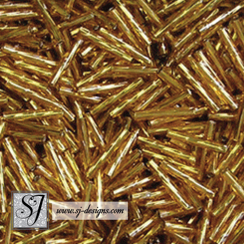 12mm Twist Bugle Beads