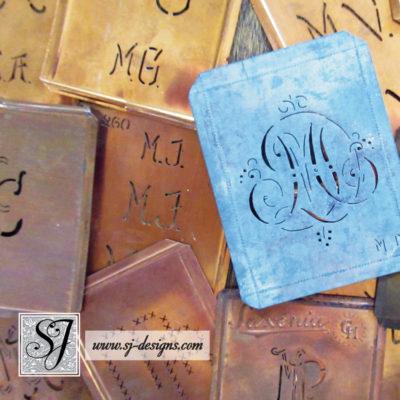 """""""M"""" Monogram Stencils"""